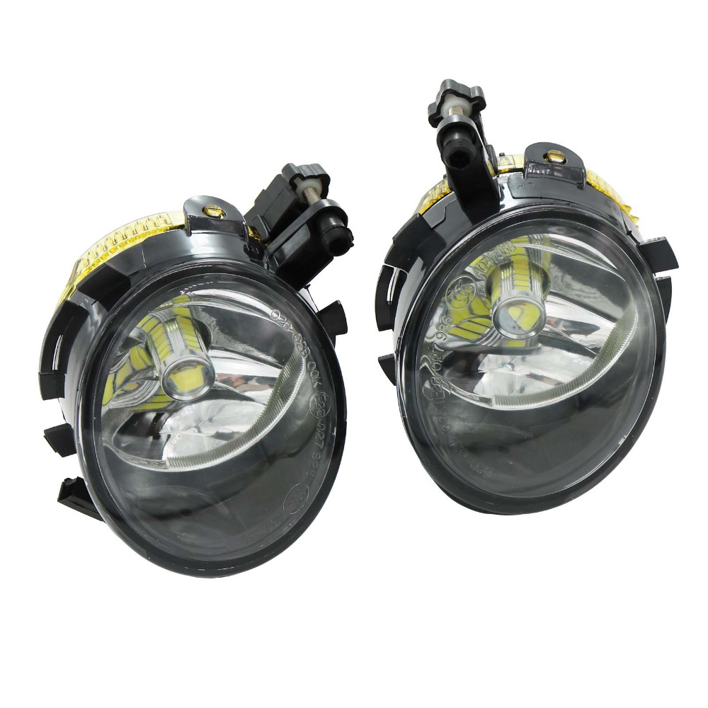 2Pcs Car LED Light For Seat Ibiza 2009 2010 2011 2012 Toledo 2005 2006 2007 2008 2009 Front LED Fog Light Fog Lamp hot sale abs chromed front behind fog lamp cover 2pcs set car accessories for volkswagen vw tiguan 2010 2011 2012 2013