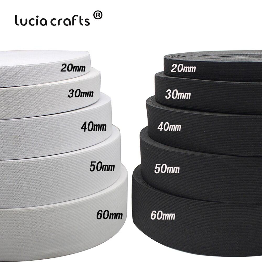 5 mm coupe au mètre Elastique Couture Plat Souple Noir
