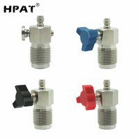 SPUNKY High Quality Mini HPA High Pressure Air Scuba Din Fill Station Adapter with 8mm Male Plug