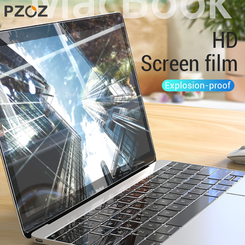 PZOZ Laptop Screen Protector For Apple Macbook Mac Book Pro 13 Model A1706 A1708 Screen Film Transparent PE Soft Protective Film