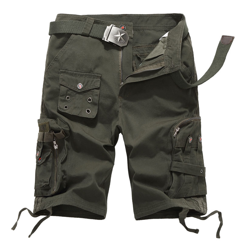 New Ladies Outdoors Camo Summer Calf-length Pants Women Combat Tactical Multi-pocket Short Trousers Casual Cargo Military Shorts charter club new navy blue women s size 14 seamed two pocket cargo shorts $40