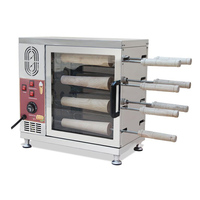 전기 굴뚝 케이크 (Kurtos Kalacs) 오븐 기계; 갑판 베이킹 오븐 및 컵 케이크 만드는 기계