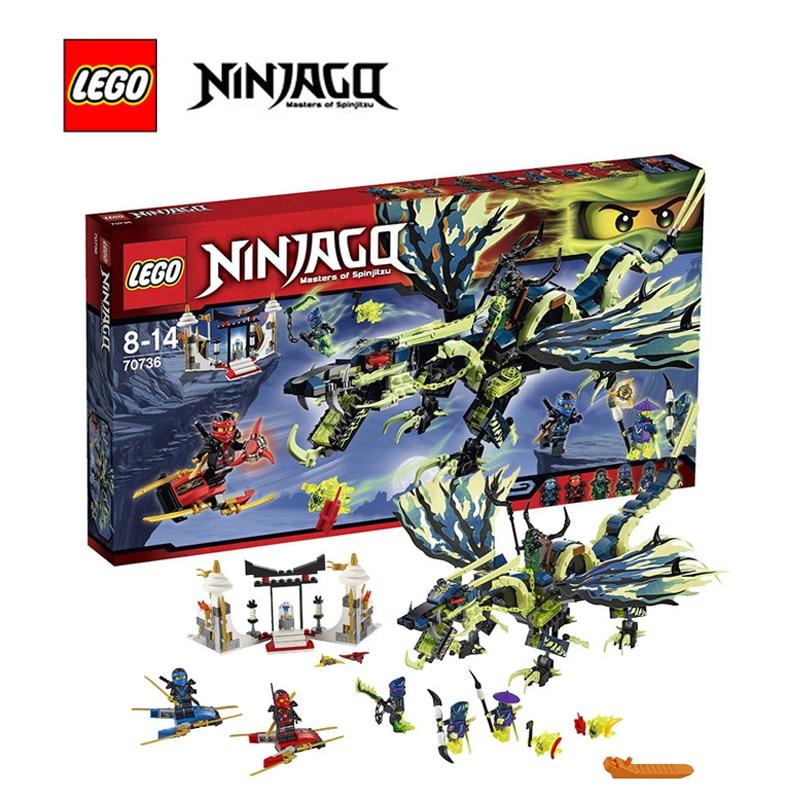Lego ninjago building bricks toy Attack of the Morro Dragon Building blocks Toy for children LEGC70736 пылесос bosch bsb2982 1800вт красный