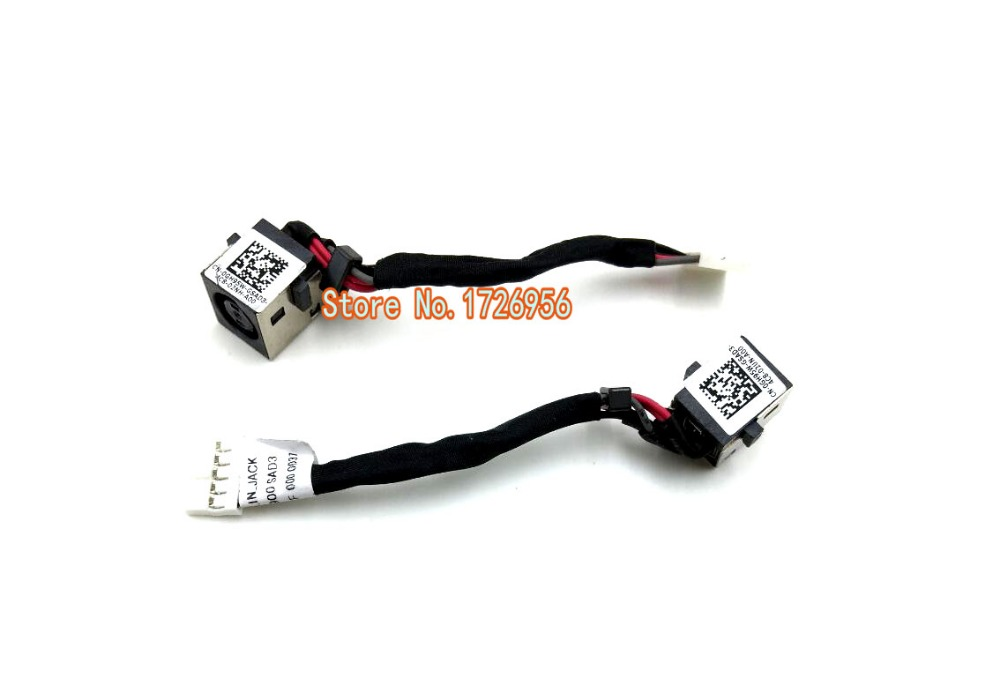 Dell Latitude E7450 AC DC Power Input Jack Cable DC30100NV00 GH95W 0GH95W New