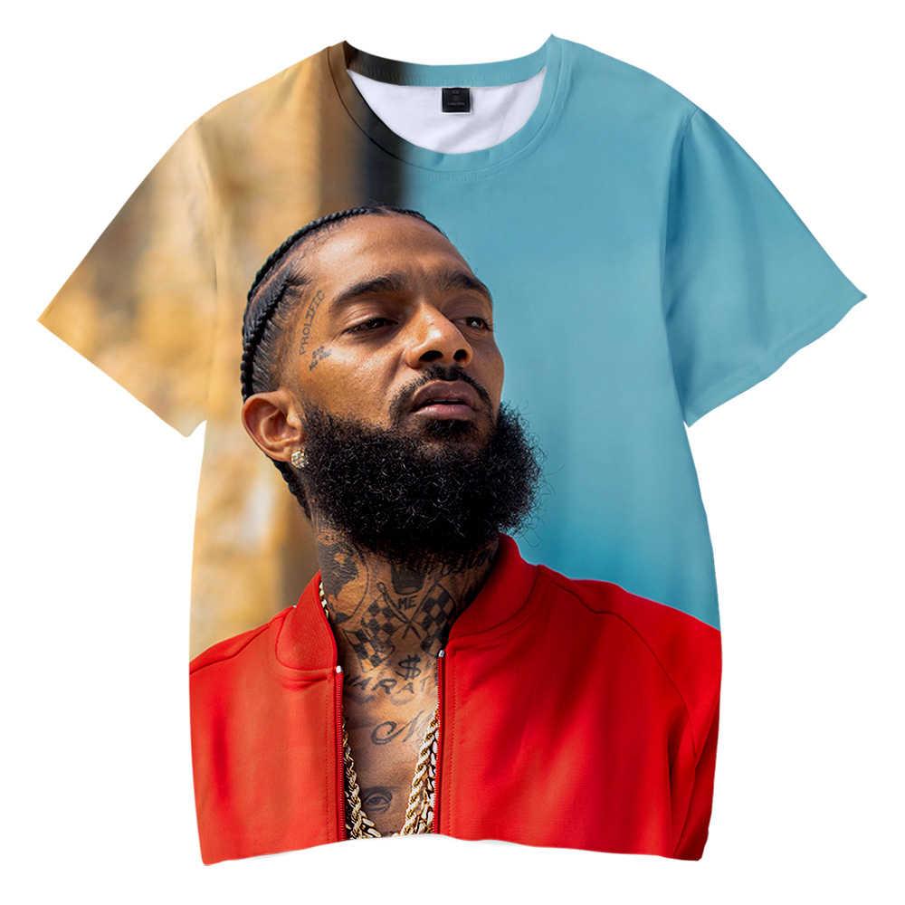 6ca7a13aec 2019 Nipsey hussle Kids 3D T-shirt Summer Casual Boys and Girls Shirt  Fashion Short Sleeve Cool Soft children T-shirt