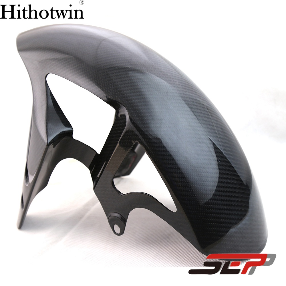SEP Motorcycle Carbon Fiber Front Fender Splash Mud Dust Guard Mudguard Tire Tyre Cover For Yamaha R1 YZF R 1 2012-2014 YZFR1 red for yamaha yzf r25 r3 13 16 14 15 motorcycle rear fender dust mudguard with chain guard fairing tire wheel hugger protector