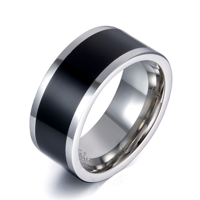 Smart Ring NFC Lock Rings App IP68 Magic Wearable Accessories for Samsung Galaxy S9 Sony LG Android NFC Mobile Black Finger Ring