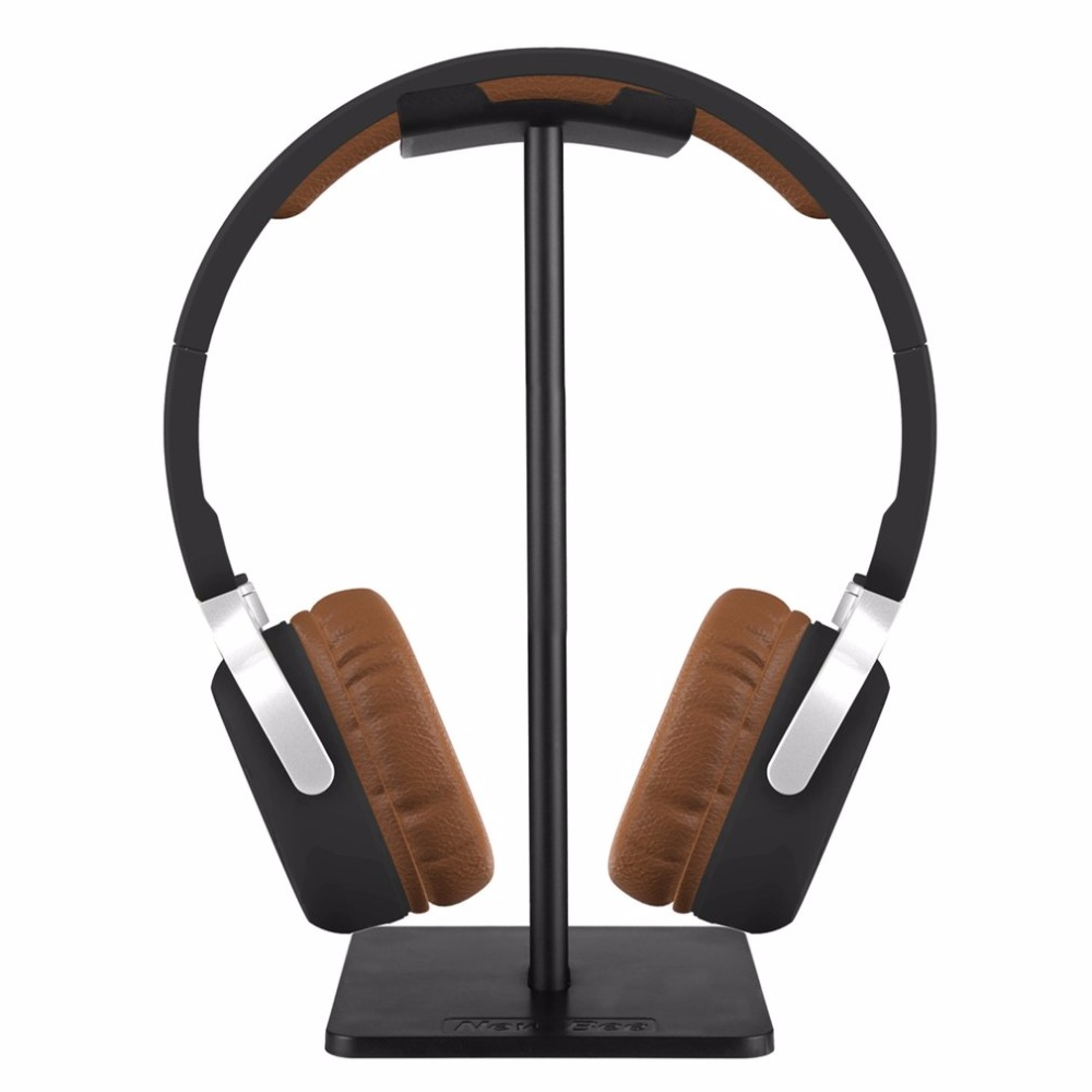 De moda nuevo Bee soporte de auriculares práctico auricular titular auriculares mostrar estante soporte de aluminio dispositivo de apoyo