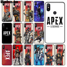 Babaite lendas do jogo Hot Apex Preto TPU Borracha Macia Tampa Do Telefone para xiaomi mi 6 8 se note2 3 mi x2 5 plus nota redmi 5 4 5 caso(China)