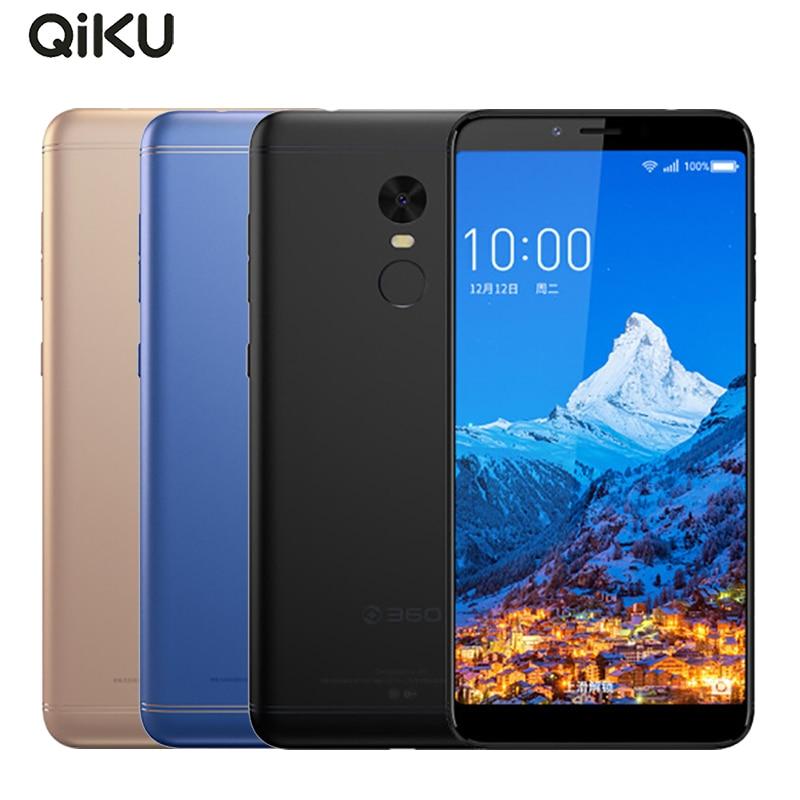Original Qiku 360 N6 Mobile Phone 5.93inch Full Screen 4GB RAM 64GB ROM Snapdragon 630 Octa Core Dual SIM Fingerprint Smartphone