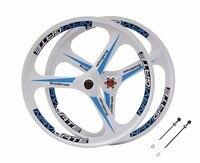 magnesium alloy wheels 26 mountain bike 3 spokes wheels Cassette 7/8/9/10 Speeds Mountain Bicycle rim parts bike rims