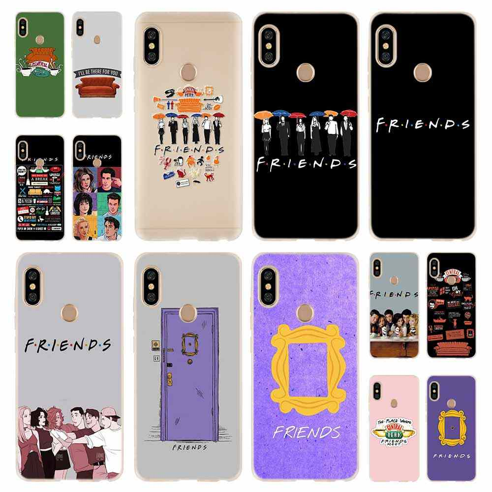 Perk Coffee friends tv Fashion Soft TPU Case Cover For Coque Xiaomi Redmi 8A 4A 5A 6A 4X 5 Plus 6 Pro Note 8 7 Pro 6 5
