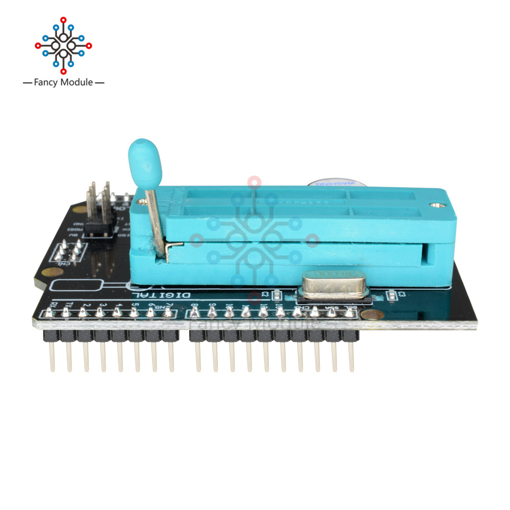 Detail Feedback Questions About Avr Isp Shield Burning Bootloader Atmel Usb Programmer Circuit Zif Socket Usbasp Atmega8 1 Package Included X