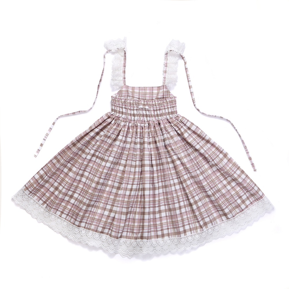 HTB1di67RXXXXXaRaXXXq6xXFXXX0 - Baby Girls Dress with Cute Headband 2017 Summer Fashion Plaid&Stripe Cotton Print Backless For Girls Princess Toddler Dresses
