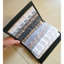 0.25 W Metal Film 1% 140valuesX10pcs = 1400 adet 1/4 W 1R ~ 4.7 M Çeşitli Direnç Kiti paketi Örnek Kitap