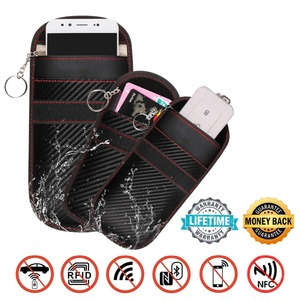 Signal Blocker Bag for Phone Anti-spying GPS RFID 3G 4G 5G Anti-tracking Pouch EMF Protection Anti-radiation Bag cae(China)