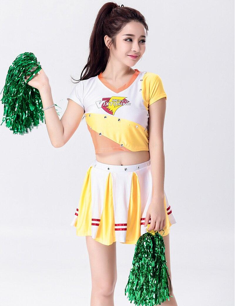 Online Buy Wholesale Girls Cheerleader Costumes From China -9582
