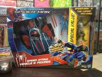 The Amazing Spider Man Spider Strike Vehicle Figures Spiderman PVC Action Figure Collection Model Toy SPM105