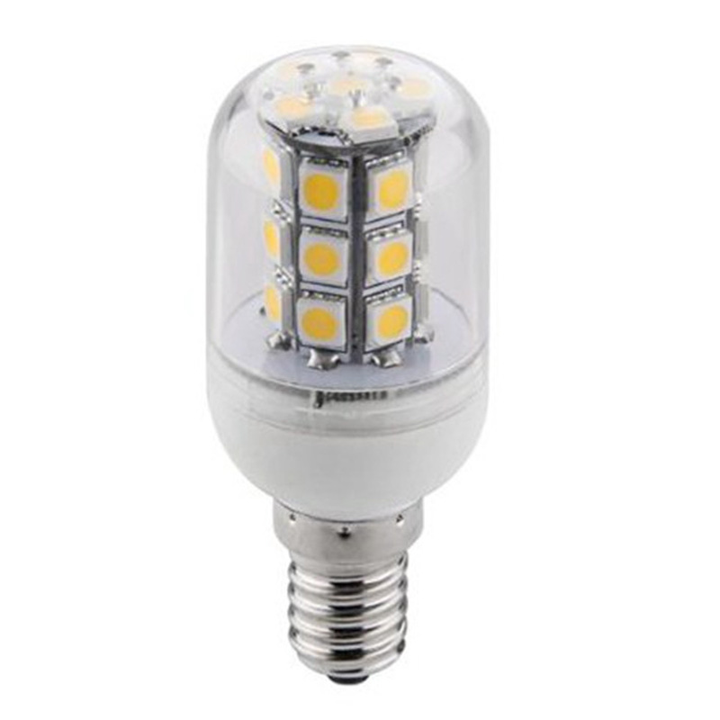 Top Quality E14 4W 27 5730 SMD Energy Saving Pure Warm White LED Corn Spot Light Lamp Bulb AC/DC24V 680lm mr16 7w cob warm white led spot bulb energy saving light 85 265v