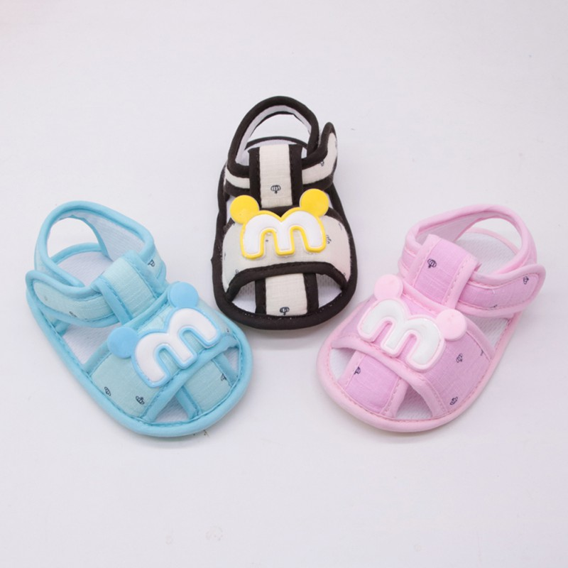Summer Newly Fashion First Walkers Hot Sale Baby Boys Girls Casual Shoes Infant Newborn Kids Soft Toddler Shoes 0-18M