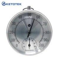 10 см Аналоговый термометр гигрометр 0-100% RH-15-55C комнатный Измеритель температуры и влажности с настенным подвешиванием без необходимости ба...
