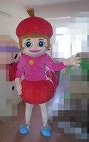 Хороший визуальный Топ продажа Вишневый костюм для девочек взрослый костюм вишневого талисмана