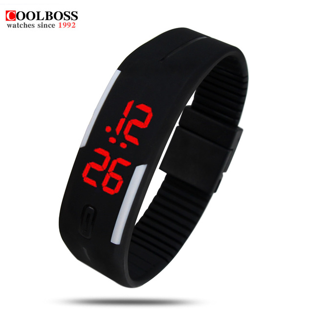 52a6dd9eef9 Relógios digitais Homens Mulheres Pulseira LED Relógios relogio masculino  saat esporte men watch militar relógio crianças