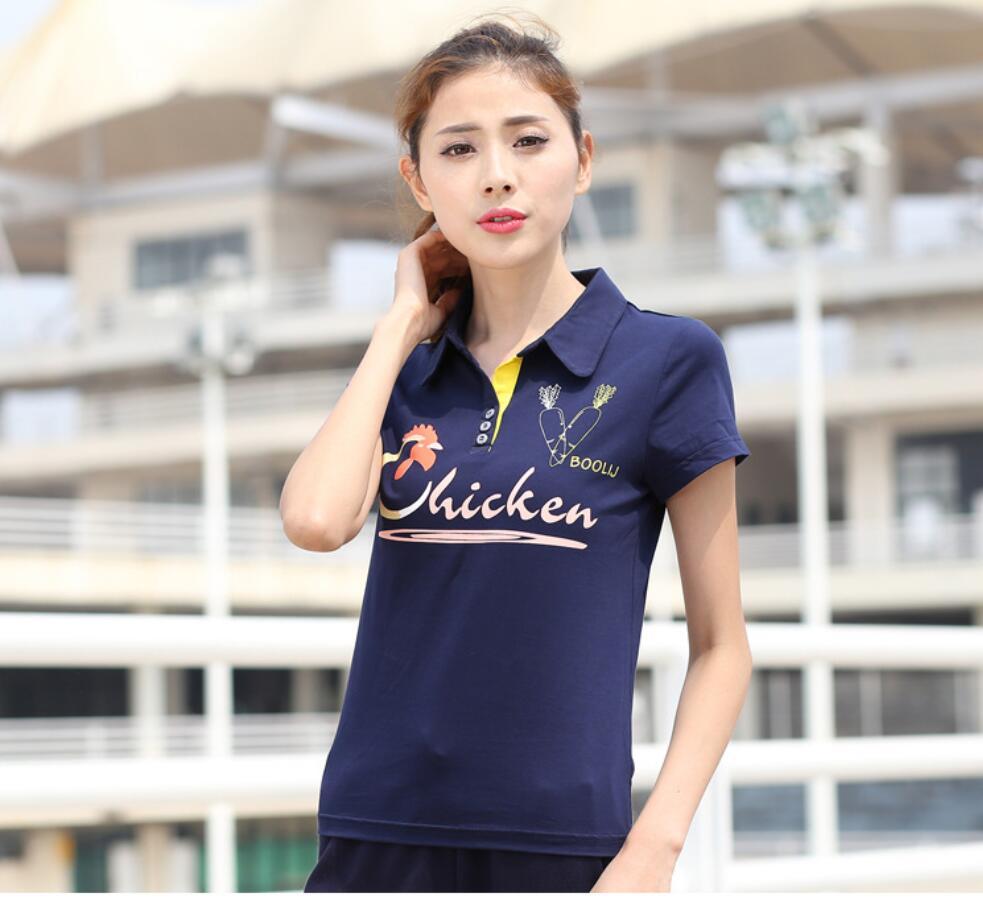 2017 Brand Summer Women Polo Shirts Plus Size Womens Polo Shirts Cotton  High Quality Casual Woman Polos shirt spors clothes 32 5acaab6fcd