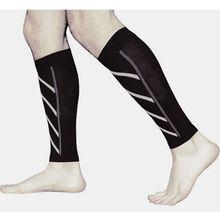 1 pair Breathable Compression Sports Safety Leg Warmer Base Layer Sleeve Shin Guard Football Basketball Calf Support