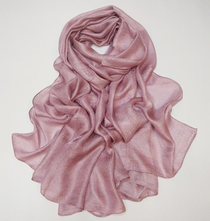 180*110cm Soft linen silk plain shawls hijab spring big size spring muslim headband wrap scarves