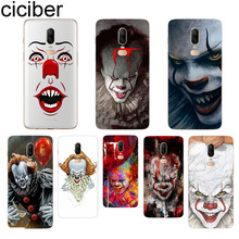 ciciber Stephen King's It Phone Case For Oneplus 7 Pro 6 5 T Soft TPU Back Cover Clear Coque for 1+7 Pro 1+ 6 1+5 T Fundas Shell