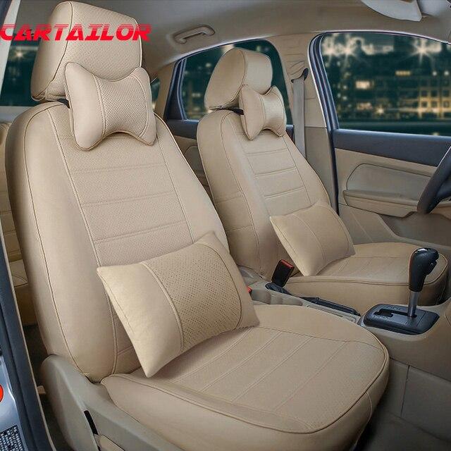 CARTAILOR custom cover seat voor volkswagen EOS stoelhoezen PU ...