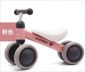 Music Children Four-Wheel Scooter Baby Balance Car Twist 1-2-Year-Old lium che Years Old Gift Toy Car