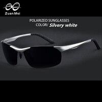 Zuan مي ماركة نظارات شمس الصيف نظارات الرجال oculos دي سول الألومنيوم للرجال القيادة النظارات سباق الرجال مكبرة ZM8531