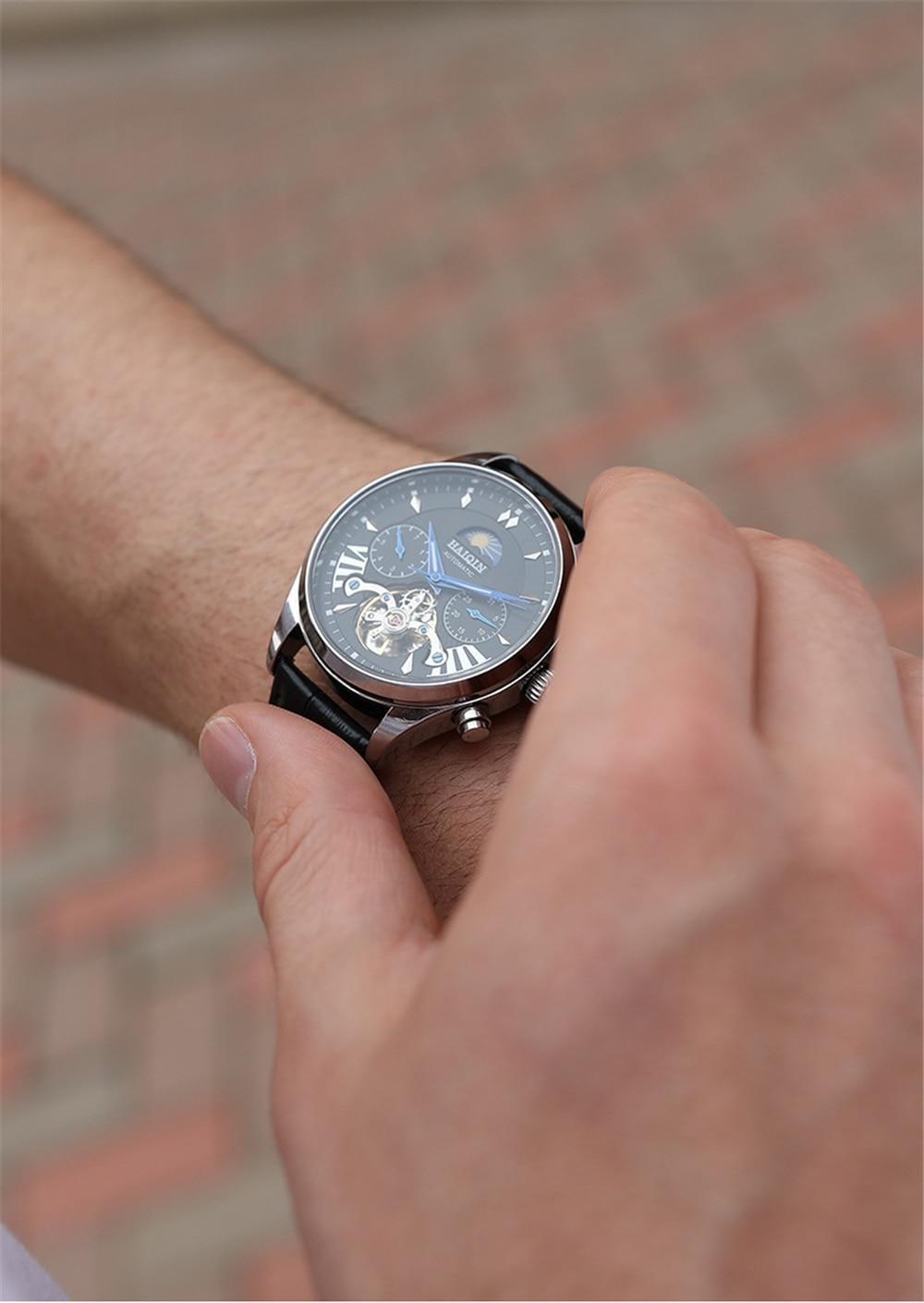HTB1di9CXOfrK1RjSspbq6A4pFXaY HAIQIN men's/mens watches top brand luxury automatic/mechanical/luxury watch men sport wristwatch mens reloj hombre tourbillon