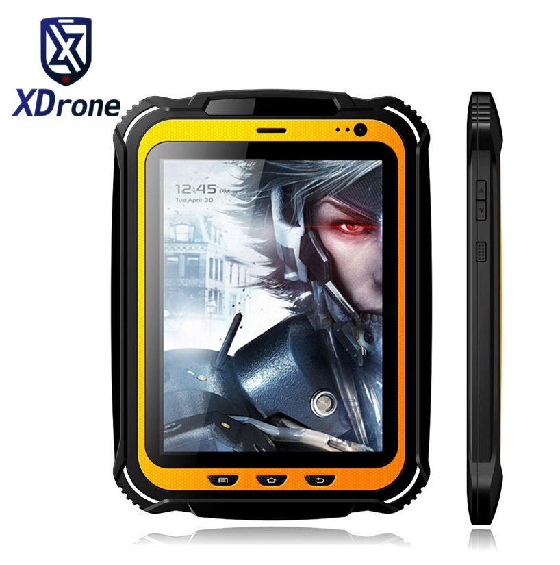 China Rugged tablet PC Phone IP67 Android Waterproof Shockproof Quad core 7.85 Screen 2GB RAM GPS NFC 15000mAH Big Battery behringer eurolive b207mp3