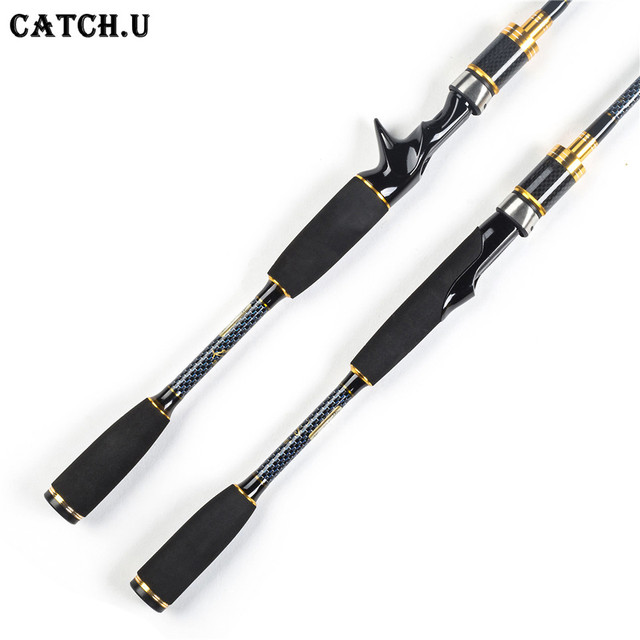 1.8M M Power 7-25g Test 100% Carbon Fiber Lure Casting Spinning Fishing Rod River
