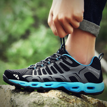 Rommedal couple new non-slip Sneakers women men summer outdoor breathable hiking casual shoes sport trainers Lovers footwear