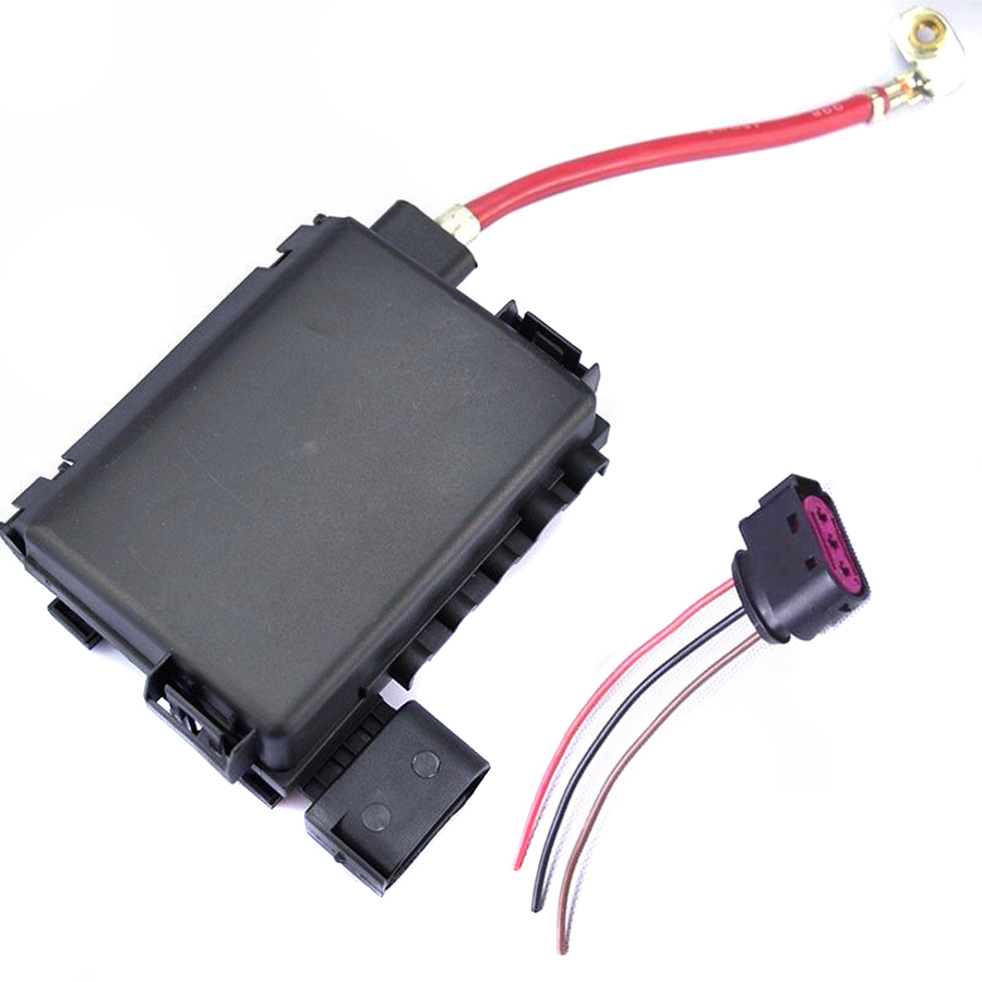 tuke oem plug battery fuse box assembly for vw beetle golf mk4 a3 jetta bora octavia seat leon. Black Bedroom Furniture Sets. Home Design Ideas