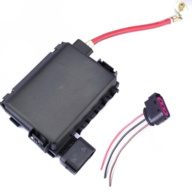 TUKE OEM Plug + Battery Fuse Box Assembly For VW Beetle Golf MK4 A3