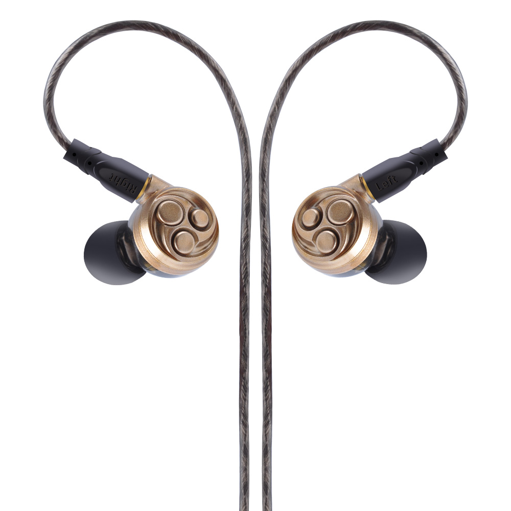 AK KINBOOFI F60 3DD In Ear Earphone Music HIFI Monito Earphone Metal Running Sport Headset Earbud Earhook Earphone