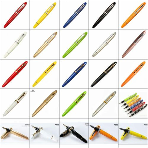 Bobby Launched Jinhao 159 Big Size Fountain Pen Screw Cap Fine Nib Stationery Office School Supplies Penna Stilografica