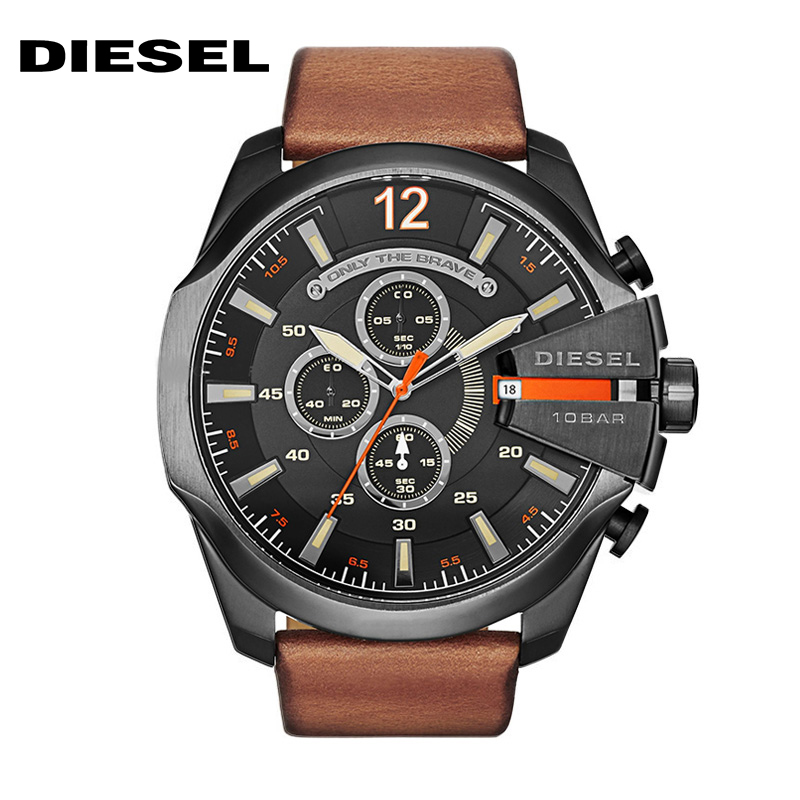 Diesel / Tsei CHIEF Officer Series Tre kronograf Watch - Herrklockor