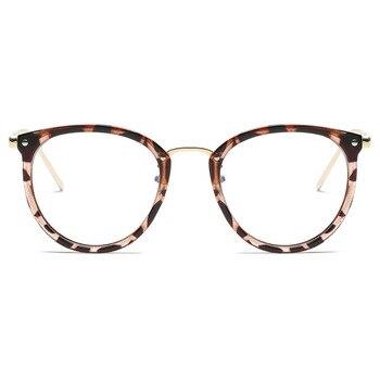 Okulary zerówki unisex Powder Color
