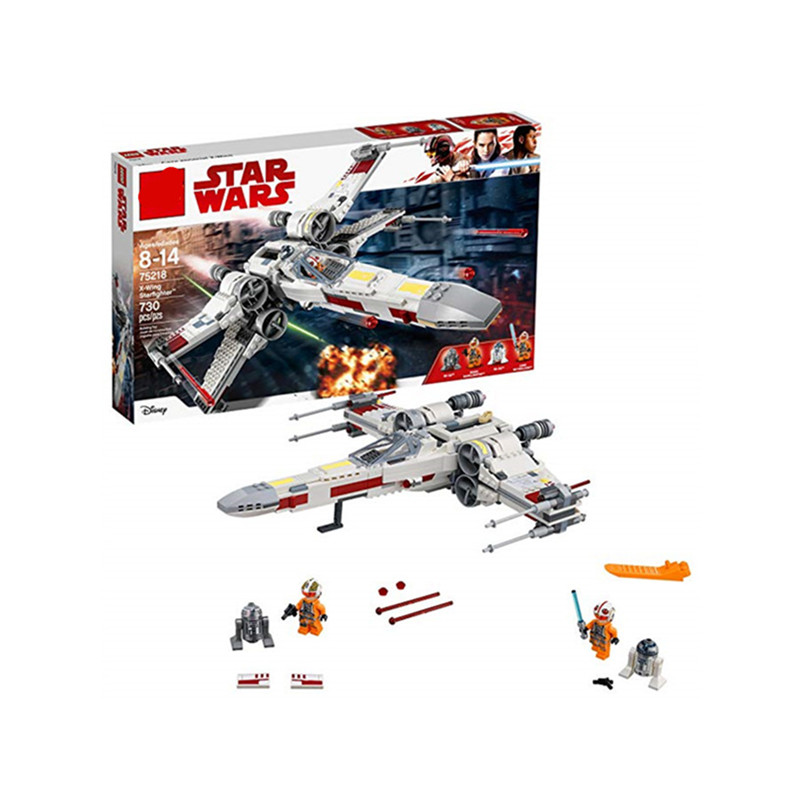 New Star Wars Series X-Wing Starfighter Compatible Legoing StarWars 75218 Building Blocks Bricks Toys Model Gifts Kids 04A new star wars series the sandcrawler compatible legoing starwars 75220 model building blocks kids toys funny christmas gifts