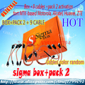 Sigma Box with 9Cables Set + Sigma Pack 2 Activation for Zte for Motorola free shipping