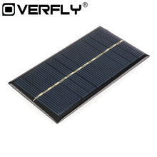 Mini Solar Panel 6V 1W 110*60mm DIY Module Kit Sunpower System Solar Painel Portable For Phone Toys Charger Solar Cells