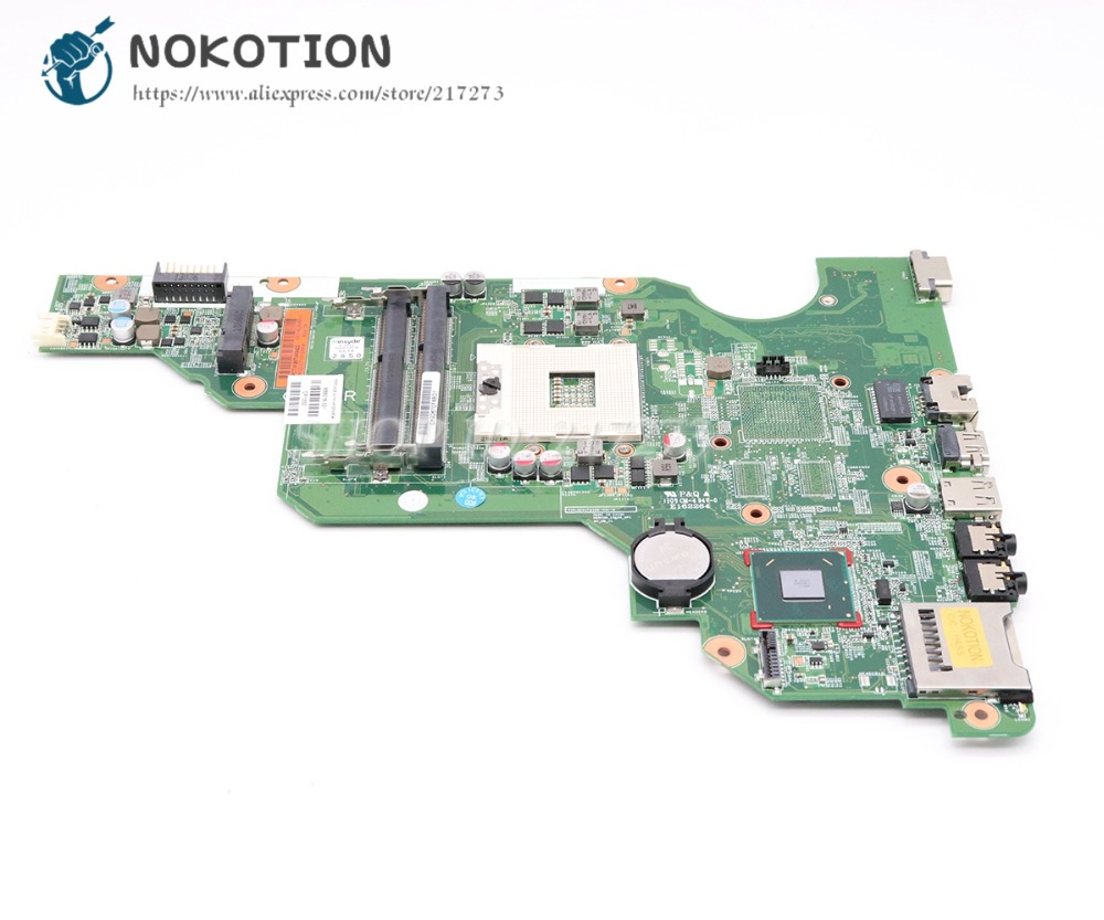NOKOTION 688018-501 688018-001 MAIN BOARD For Hp compaq CQ58 2000 2000-2204TU Laptop Motherboard HM70 DDR3 Free CPU цена