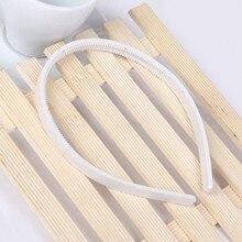 1 см модные простые женские пластиковые повязки для волос ободки для волос зубы головные уборы для девочек аксессуары для волос DIY