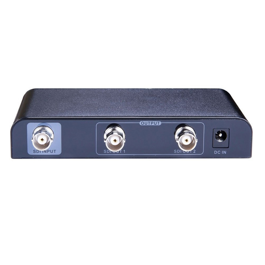 New SDI Splitter 1x2 SDI Signal to 2  outputs Supports  3G-SDI Signals Distribution Extender Repeater hightek hk s1t4 4 ports sdi splitter 1x4 hd sdi 3g sdi sd sdi distribution splitter